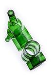 Cracked bottle Royalty Free Stock Photos