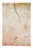 Cracked brick pattern, isolated royalty free stock photo