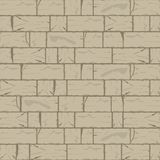 Cracked Brick Wall Background in Hazel Wood Brown Tone. This Cracked Brick Wall background is a beautiful blend of Hazel Wood brown undertone perfect for Royalty Free Stock Image