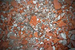 Cracked bricks texture Royalty Free Stock Photography