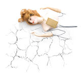 Cracked And Broken Stock Image