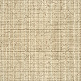 Cracked canvas. Abstract cracked linen canvas fabric background. Illustration. Vector Stock Photo