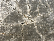 Cracked cement background. Cracked old cement texture background Royalty Free Stock Photography