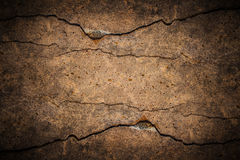 Cracked cement background Stock Image