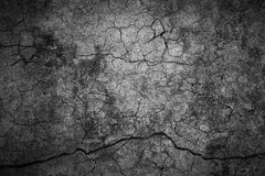 Cracked cement background Royalty Free Stock Photos