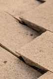 Cracked cement floor background and wallpaper Stock Images
