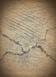 Cracked cement grunge background Royalty Free Stock Images