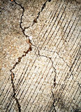 Cracked cement grunge background Stock Photos