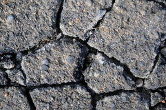 Cracked cement texture background Royalty Free Stock Image
