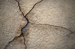 Cracked cement wall Stock Photos