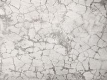 Cracked cement wall material, texture. Photography Royalty Free Stock Images