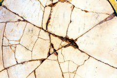 Cracked china porcelain Royalty Free Stock Image