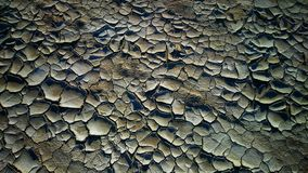 Cracked clay. Dry land. stock photography