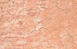 Cracked clay ground Stock Photos