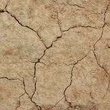 Cracked clay ground texture background. Global warming effect stock images