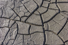 The cracked clay ground texture Royalty Free Stock Image