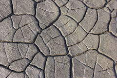 The cracked clay ground texture Royalty Free Stock Photo