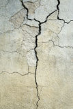 Cracked Concrete Stock Images