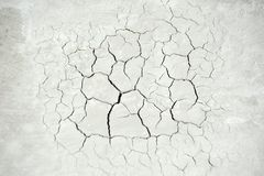 Cracked concrete background Stock Image