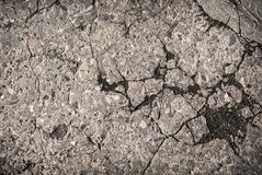 Cracked Concrete Stock Photo