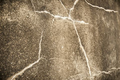 Cracked Concrete Royalty Free Stock Image