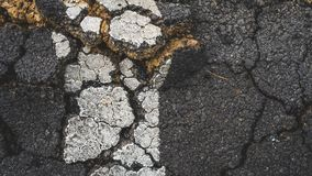 Cracked Concrete Texture Background royalty free stock photography