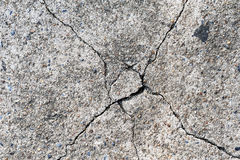 Cracked Concrete Surface Royalty Free Stock Photography