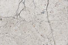 Cracked Concrete Surface. Architectural detail representing cracked old concrete surface Stock Photo