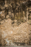 Cracked concrete vintage brick wall background Royalty Free Stock Image