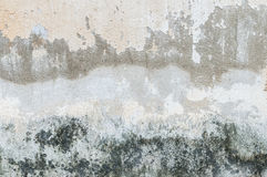 Cracked concrete vintage wall Royalty Free Stock Photos
