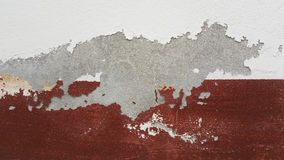 Cracked concrete vintage wall background Royalty Free Stock Photos