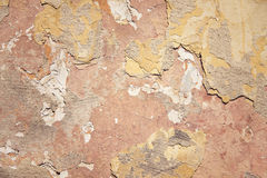 Cracked concrete vintage wall background Royalty Free Stock Images
