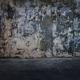 Cracked concrete vintage wall Royalty Free Stock Images