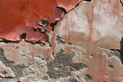 Cracked Concrete Vintage Wall Background Stock Image