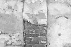 Cracked concrete vintage wall background,old wall Royalty Free Stock Images