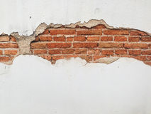 Cracked concrete vintage wall background,old wall.  Stock Photography