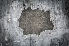 Cracked concrete vintage wall texture as background Royalty Free Stock Photography