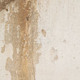 Cracked concrete wall. Royalty Free Stock Images