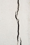 Cracked concrete wall. Cracked on concrete wall background Stock Image