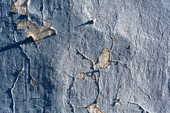 Cracked concrete wall background Royalty Free Stock Photos
