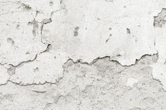 Cracked concrete wall concrete wall Stock Photography