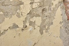 Cracked Concrete Wall Detail Background Stock Images