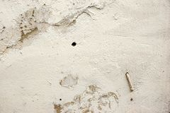 Cracked Concrete Wall Detail Background Royalty Free Stock Photo