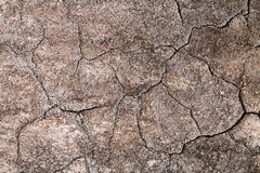 Cracked concrete wall. An old cracked concrete wall background Royalty Free Stock Image