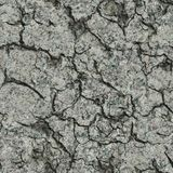 Cracked Concrete Wall. Seamless Tileable Texture. Stock Photos