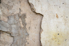 Cracked concrete wall texture background royalty free stock photo