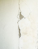 Cracked concrete wall texture concrete. In building royalty free stock images