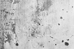 Cracked concrete wall texture Stock Photography