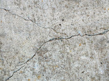 Cracked concrete 1 Royalty Free Stock Image