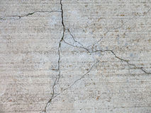 Cracked concrete 2 Stock Image